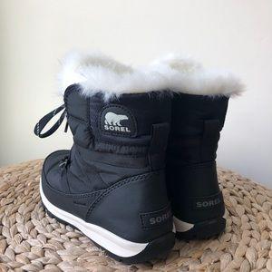 d94bddb12c94b2 Sorel Shoes - New Sorel Whitney Short Lace Black Snow Boots